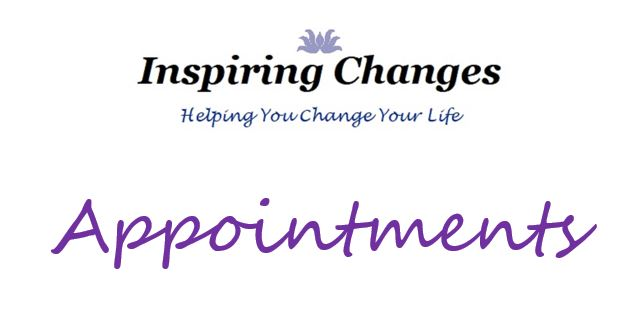 Book a Hypnotherapy Appointment in Salisbury, with Inspiring Changes logo