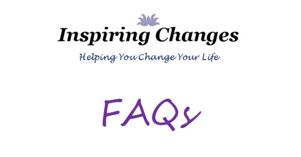 Hypnotherapy and Reiki FAQs in Salisbury, with Inspiring Changes logo