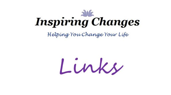 Hypnotherapy Website Links with Inspiring Changes logo