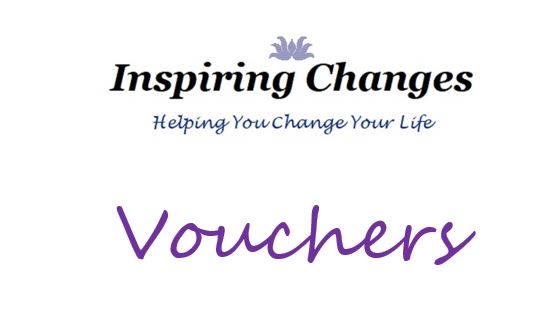 Girft Vouchers for Hypnotherapys in Salisbury, with Inspiring Changes logo