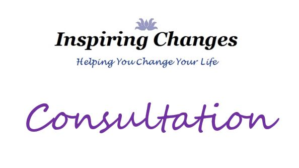 Hypnotherapy Consultation in Salisbury, Christchurch with Inspiring Changes logo