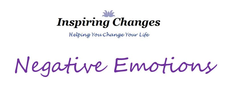 Negative Emotions, Hypnotherapy - Salisbury, New Forest and Christchurch with Ins[piring Changes logo