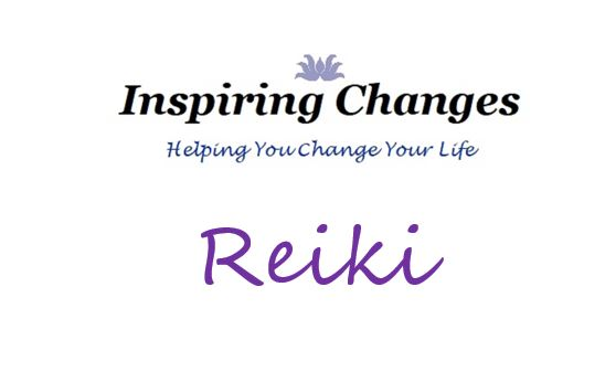 Reiki in Salisbury New Forest and Christchurch with Inspiring Changes Logo